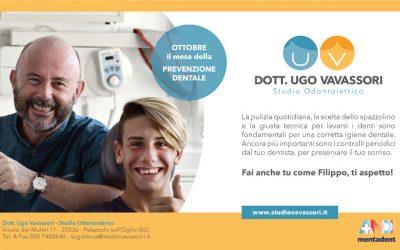 Ottobre il mese della prevenzione dentale